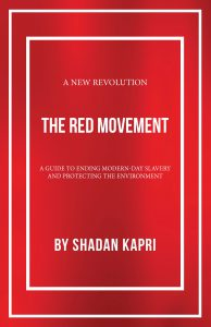 """Cover of """"The Red Movement"""" by Shadan Kapri."""