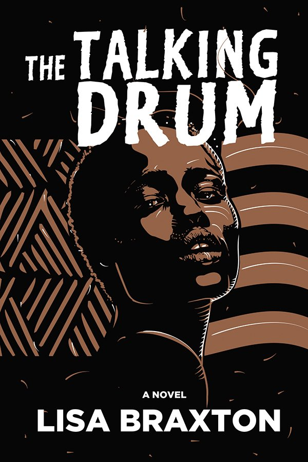 """Cover of """"The Talking Drum"""" by Lisa Braxton."""