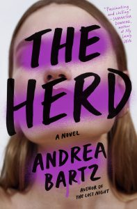"""Cover of """"The Herd"""" by Andrea Bartz."""