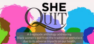 Docuseries artwork for She Quit.