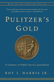 Book cover image with gold Pulitzer medal.